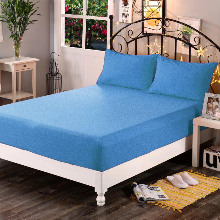 Froté plachta (modrá), 160 x 200