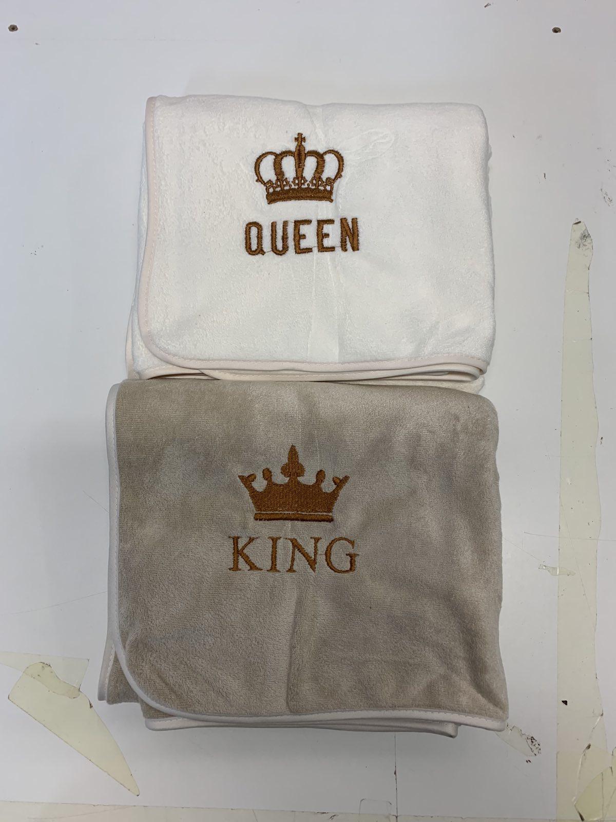 (Exkluzívna) Mikroplyš osuška Queen/King, 70x140