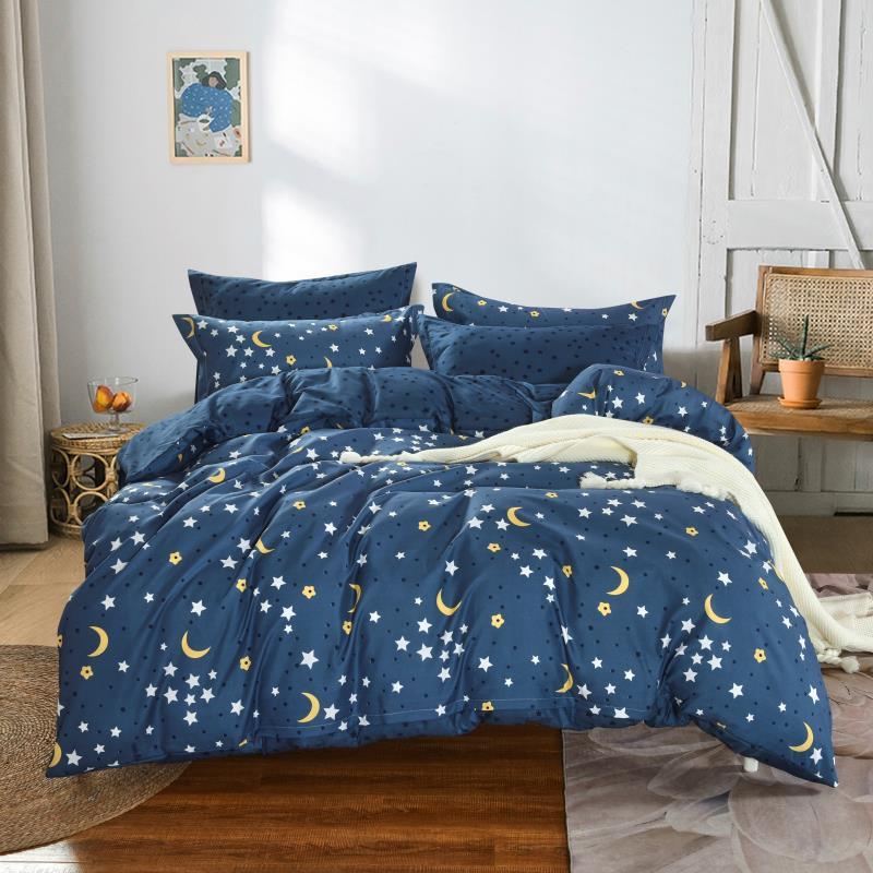 (Francúzske) Bavlnené obliečky moon (6-dielna sada), 200 x 220 cm